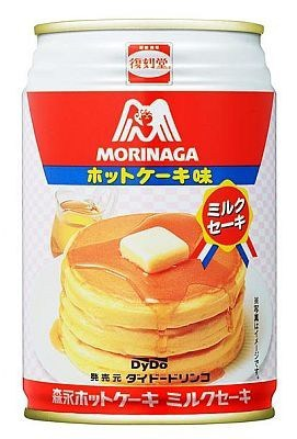 canned hot cake beverage