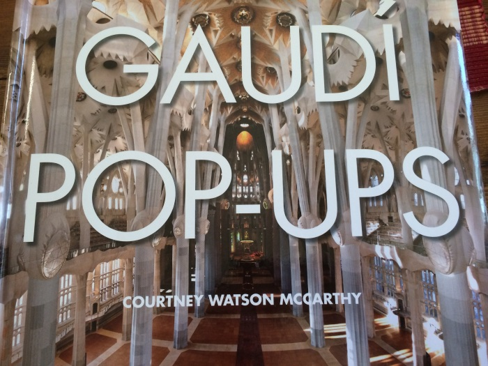 Gaudi pop up book