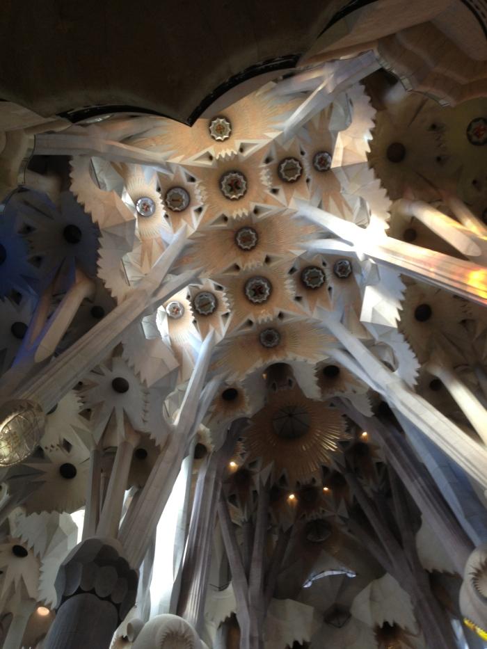 Inside The Sagrada Famiglia