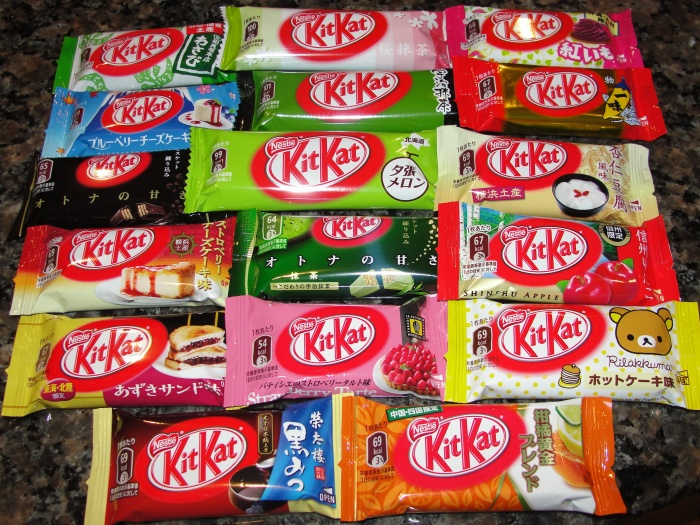 japanese kit kats
