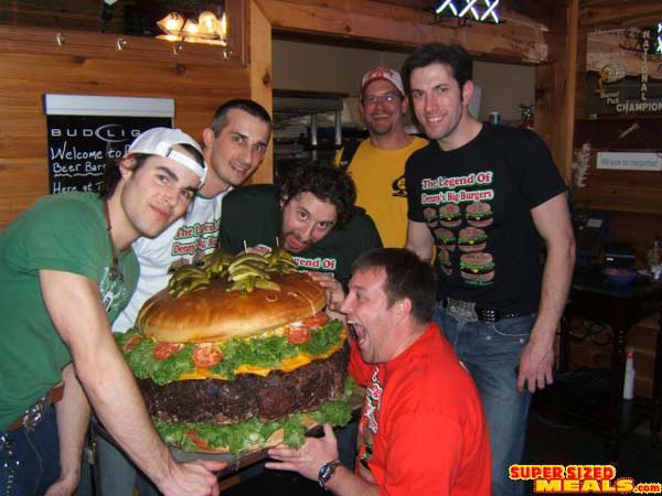 largest cheeseburger in the world