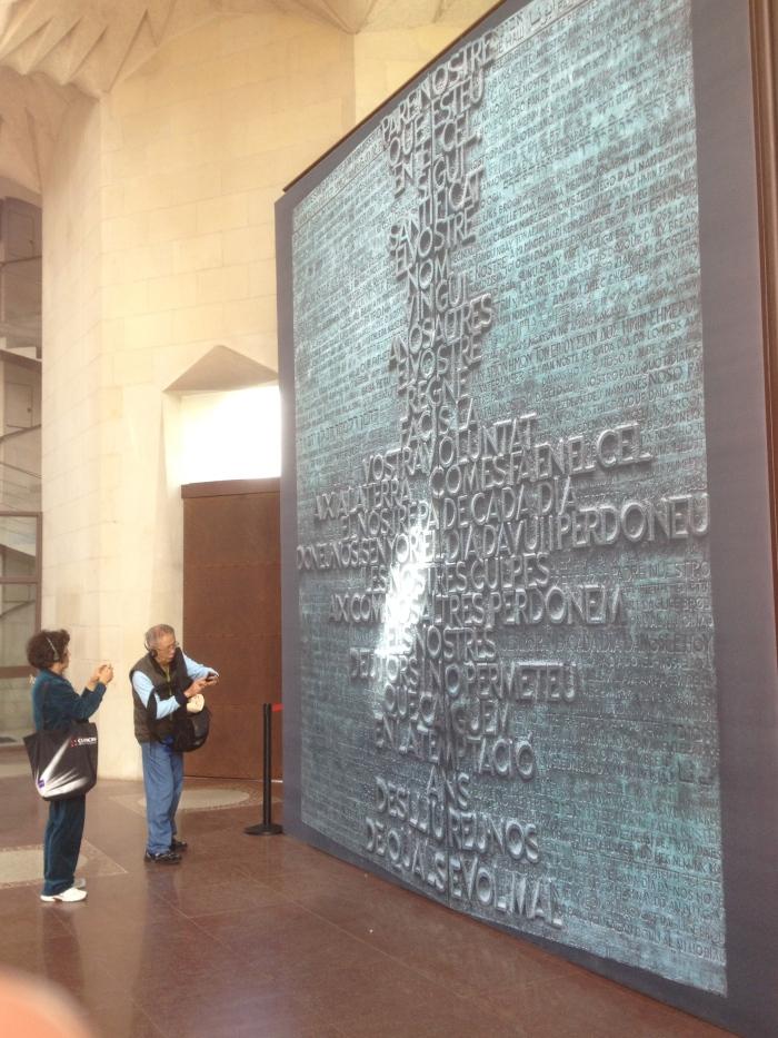 legendary Sagrada Famiglia entrance