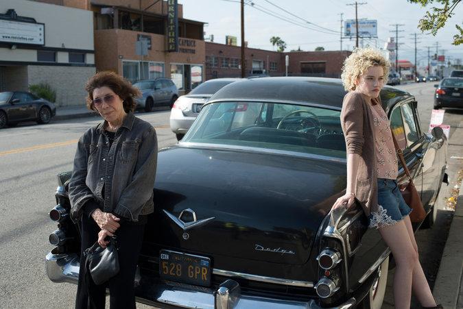 Lily Tomlin Grandma car