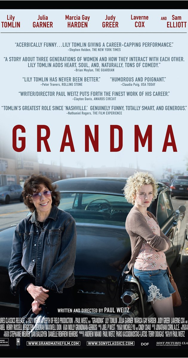 Lily Tomlin Grandma movie