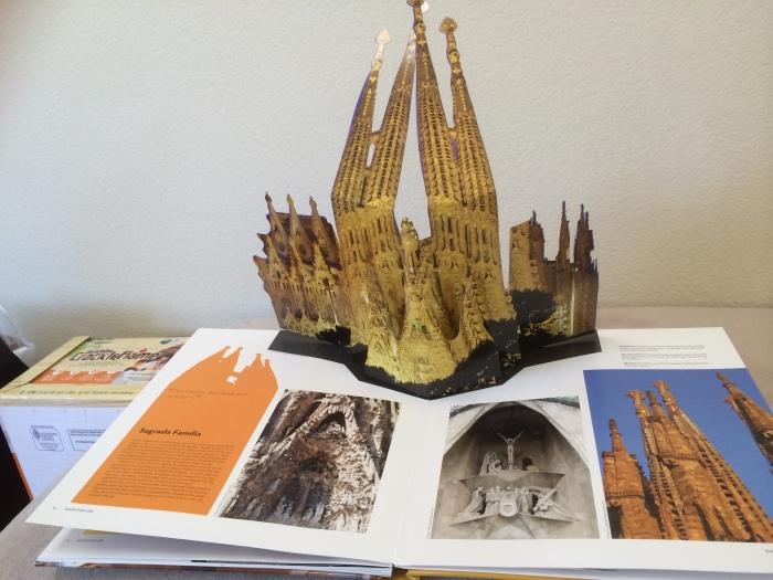 pop up Sagrada Famiglia