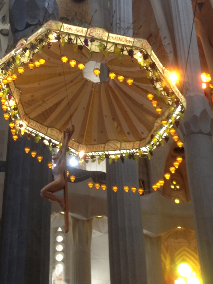 Sagrada Famiglia cathedral alter