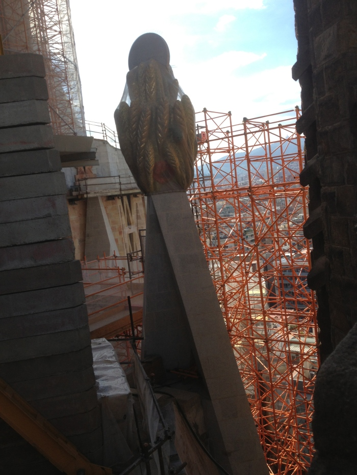 Sagrada Famiglia construction