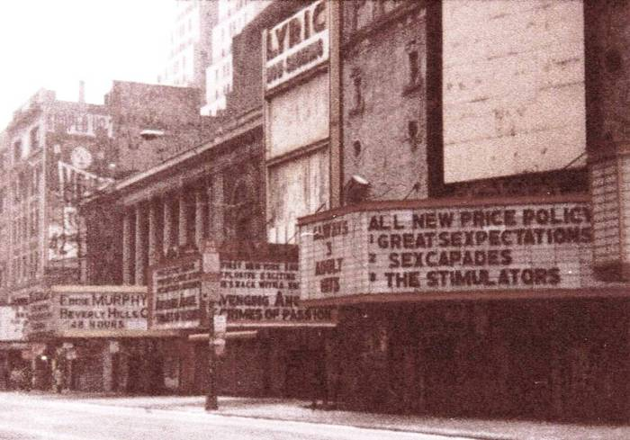 42nd_St,_NYC,_Lyric_Theatre,_1985