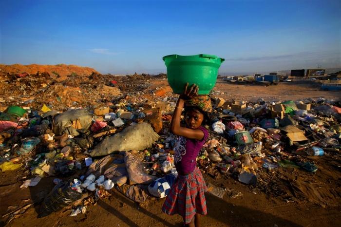 angola slums