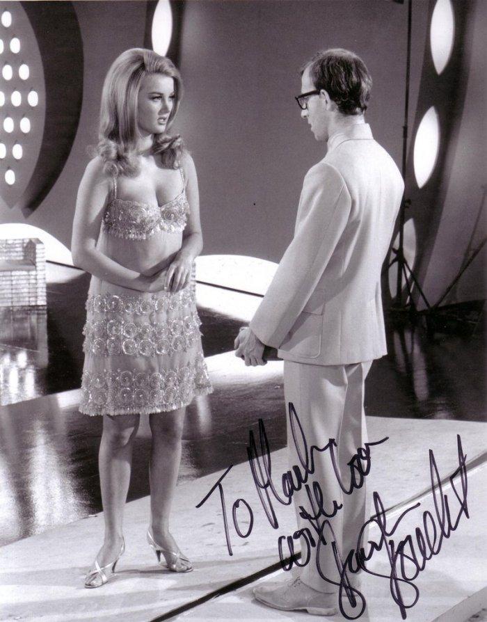 Barbara Bouchet Woody Allen