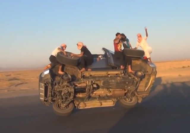 dangerous car stunts