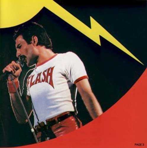 Freddie Mercury Flash Gordon