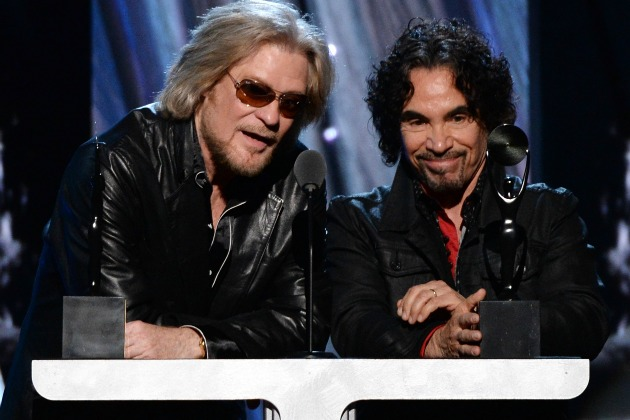 Hall-and-Oates hall of fame ceremony