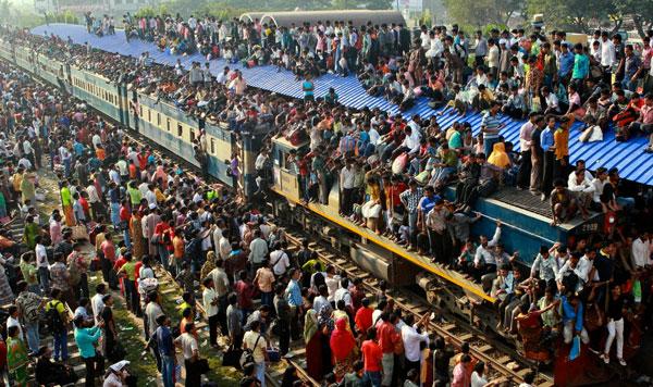India-train-station