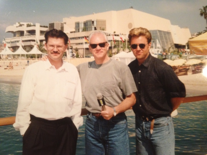 Malcolm McDowell in Cannes