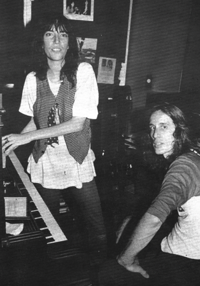 Patti Smith and Todd Rundgren