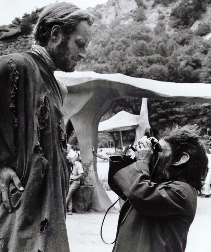 Planet Of The Apes BTS