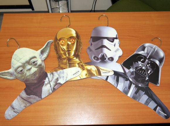 Star Wars hangers