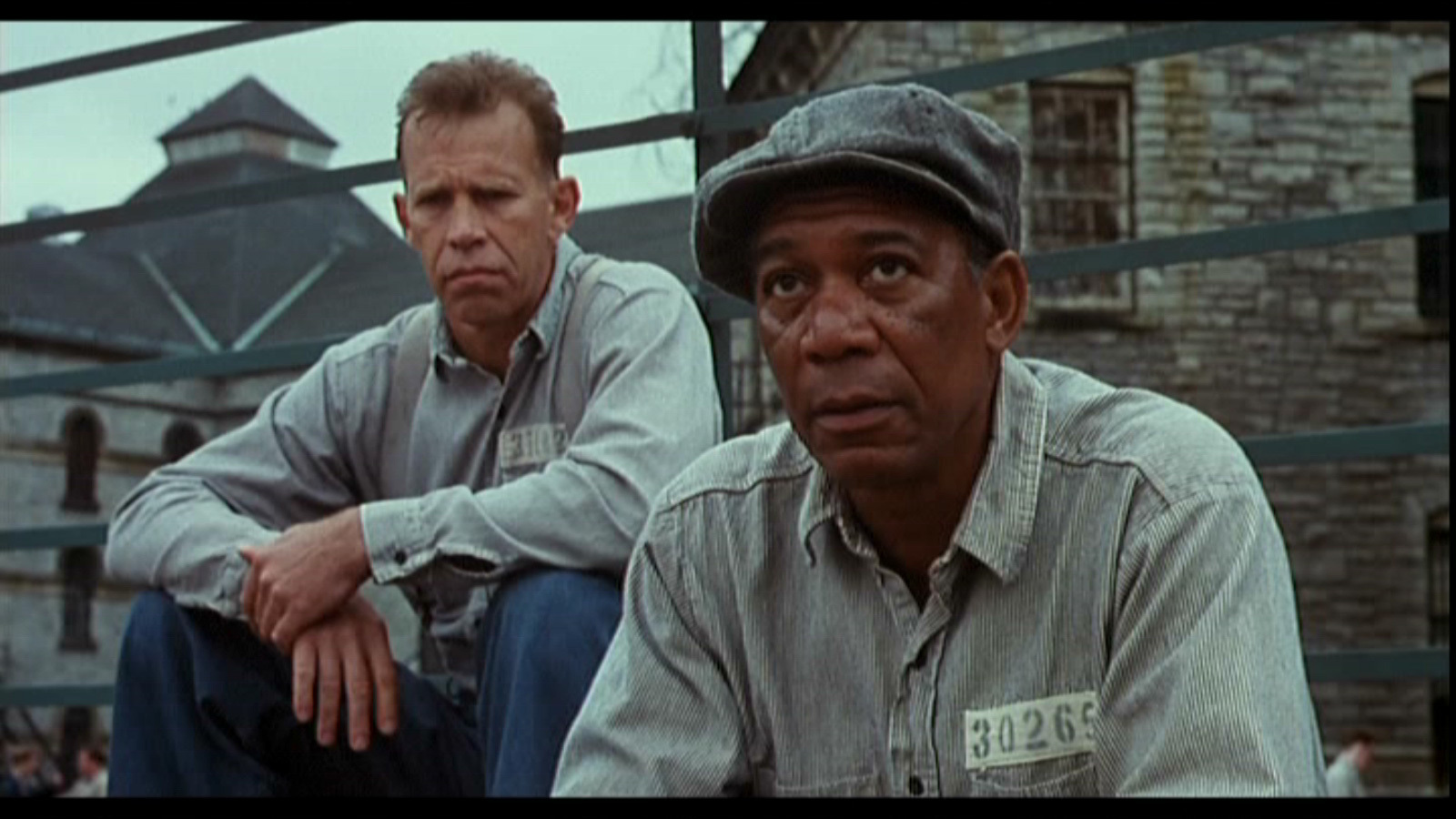 Morgan freeman s narration helps propel the story and also provides