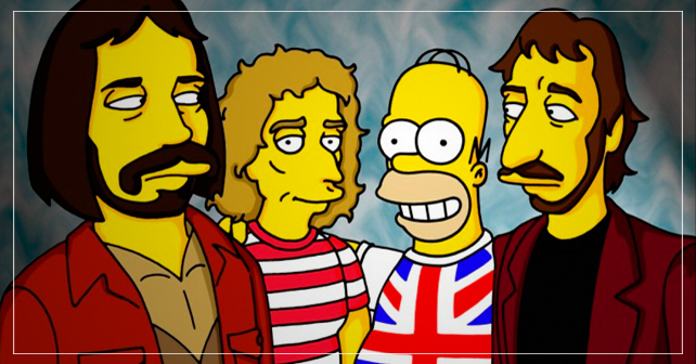 the simpsons the who