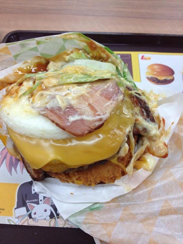 wacky Lotteria burger
