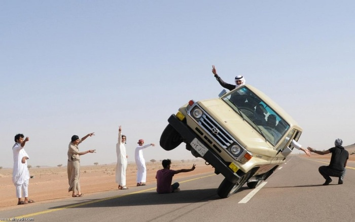 world's most dangerous car stunts