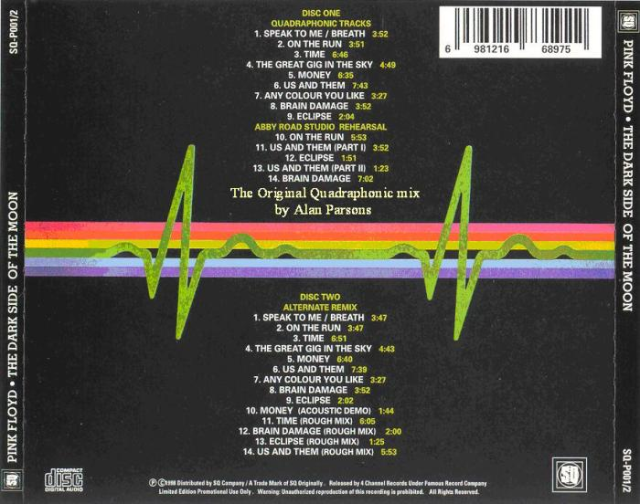 Dark Side Of The Moon special edition