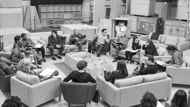 new star wars cast with jj abrams