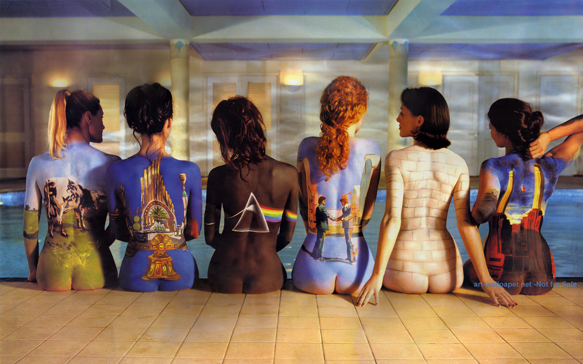 Pink Floyd Naked Women 90