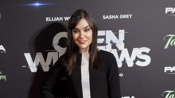 Sasha Grey movie premiere