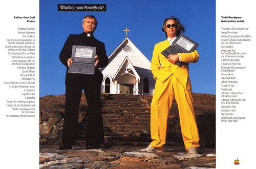 1993 WhatsOnYourPowerBook ad Todd Rundgren