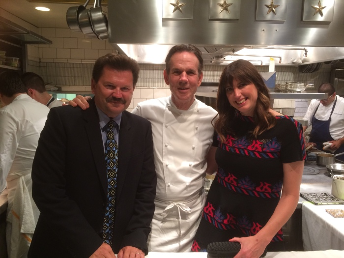 Chef Keller JR and Alex