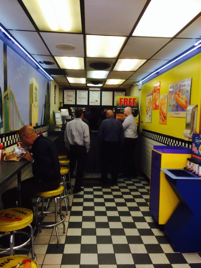 Chicago Loop burgers
