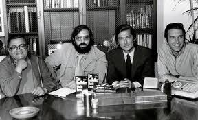 Francis Ford Coppola and Robert Evans