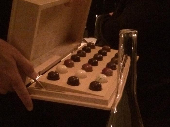 French Laundry dessert truffles