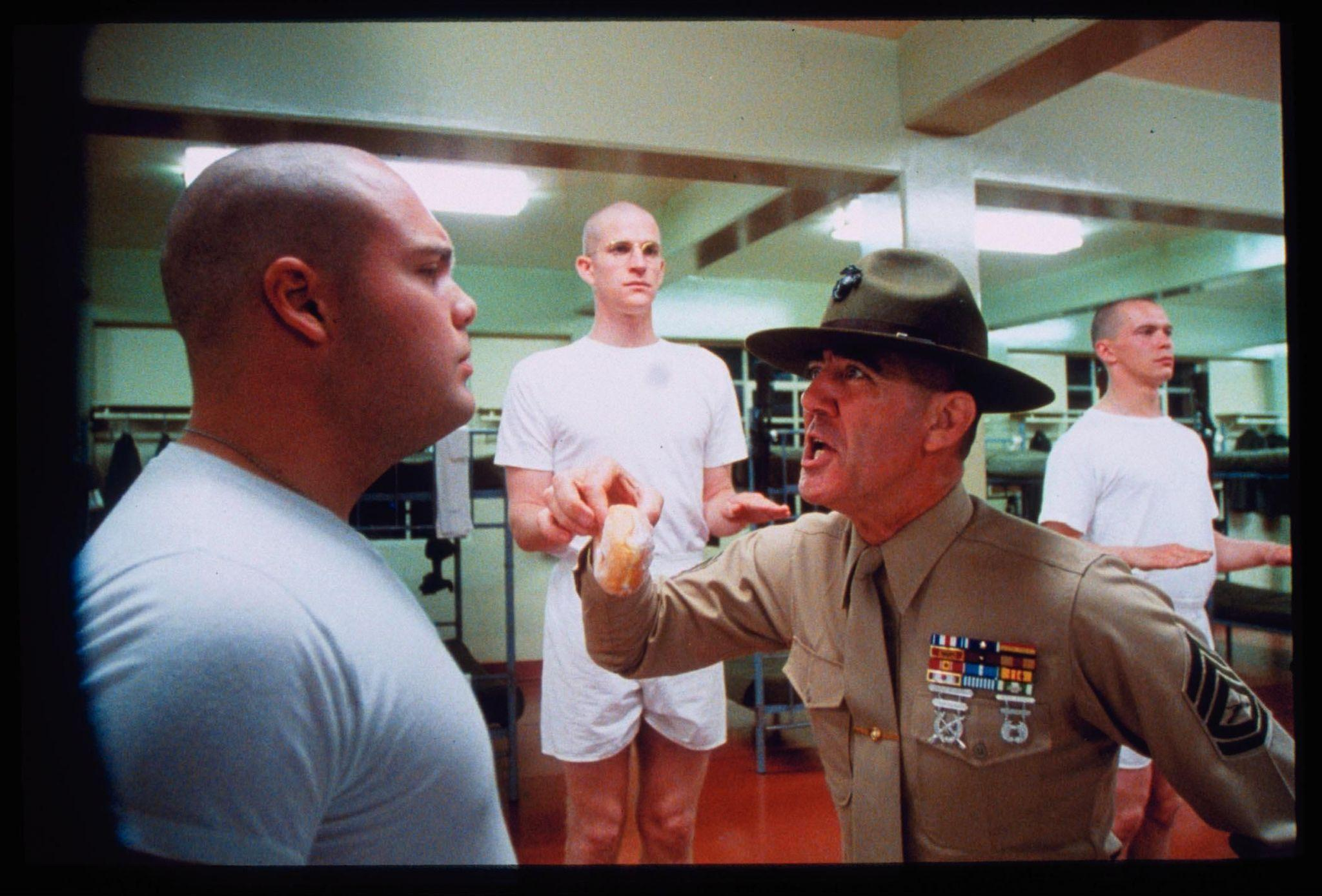full metal jacket foul mouthed memories from sgt hartman r lee ermey speaks johnrieber. Black Bedroom Furniture Sets. Home Design Ideas