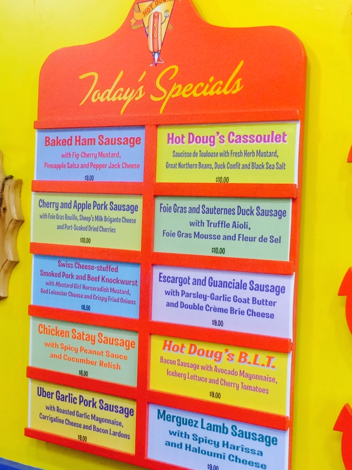 Hot Doug's Special Dogs