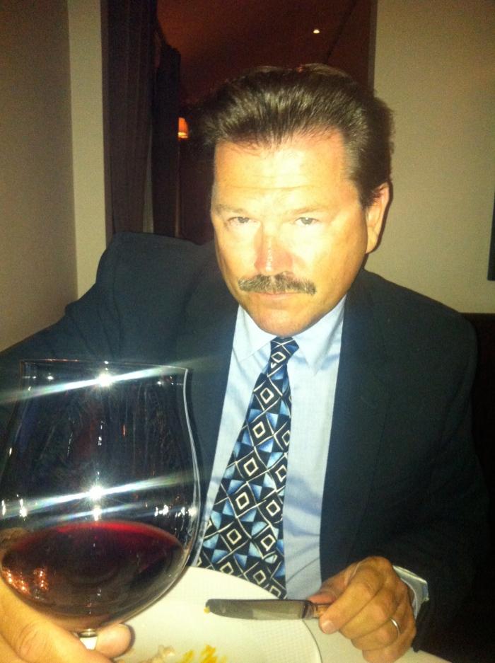 JR wine tasting dinner