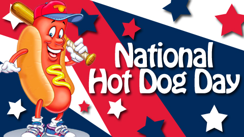 national hot dog day 2014