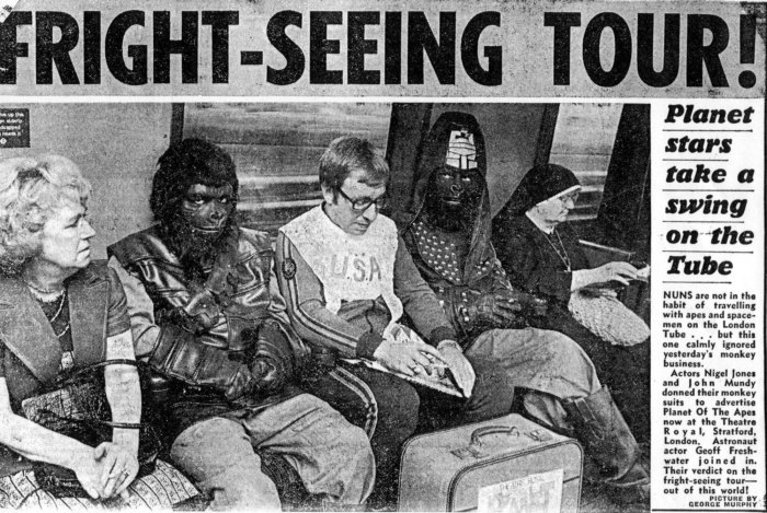 Planet of the Apes publicity stunt