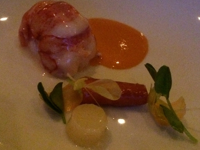 The French Laundry poached lobster