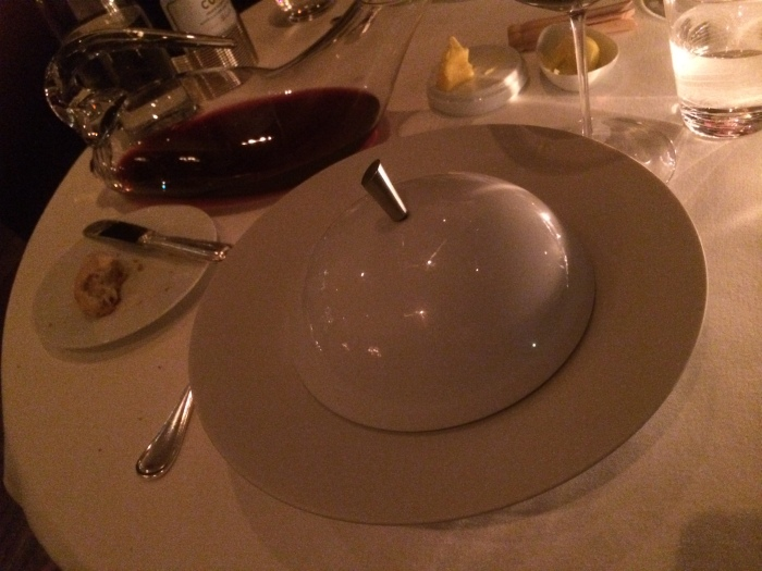 The French Laundry table service