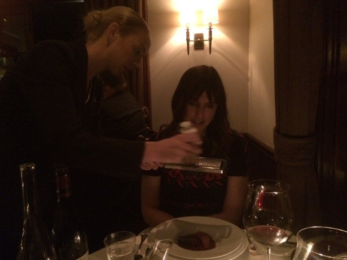 The French Laundry XX table service