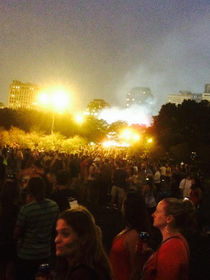 Arctic Monkeys Lollapalooza 2014