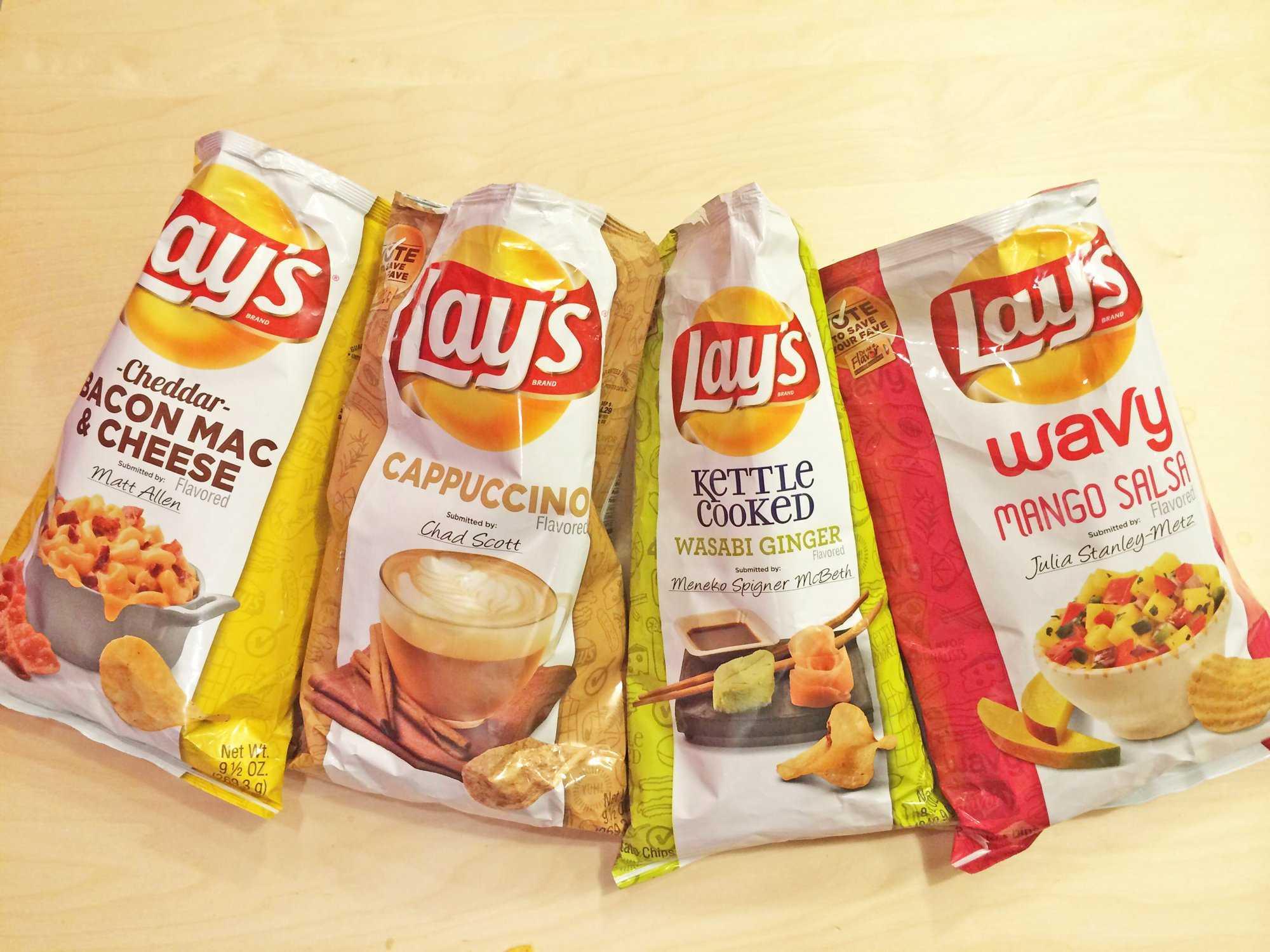 Caviar Potato Chips! Cajun Squirrel Chips! The World's ...