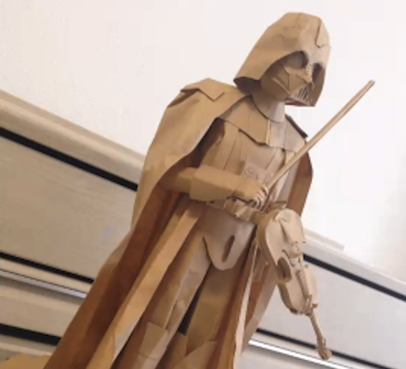 Darth Vader violin