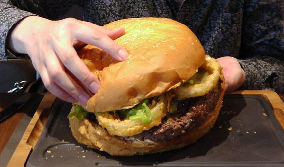 five pound burger