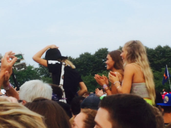 Lollapalooza crowd 2014