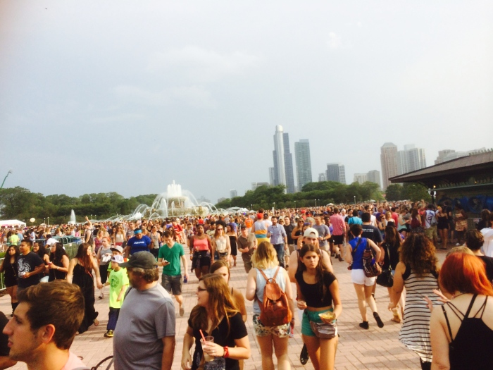 Lollapalooza day one 2014