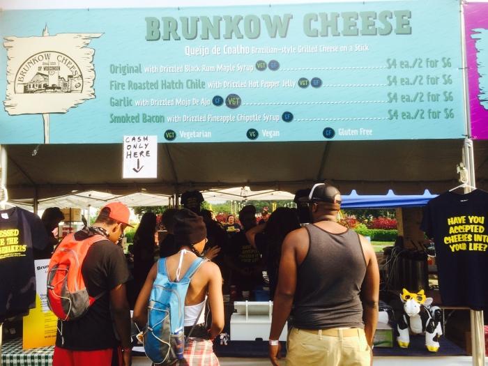 Lollapalooza food stalls